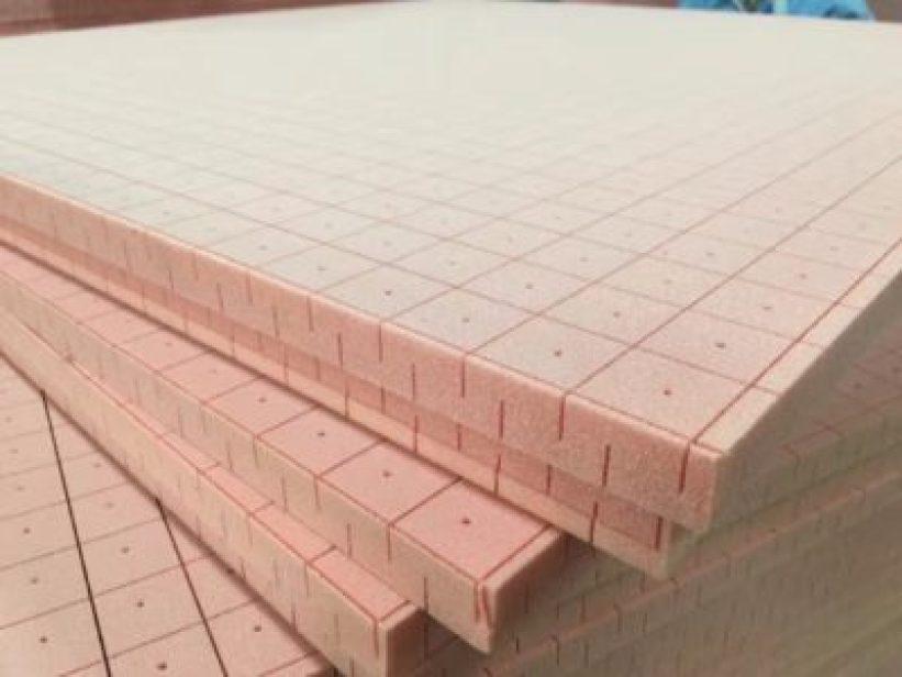 Closed cell PVC foam core