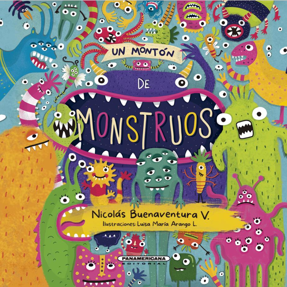 Ilustración de Luisa María Arango, escrito por Nicolás Buenavetura Vidal, diseñado por Cactus Taller Gráfico