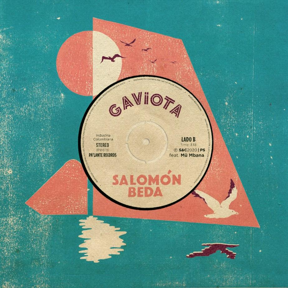Portada del sencillo Gaviota de Salomón Beda