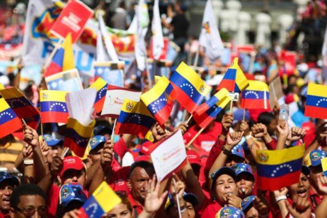 Empieza marcha del PSUV este 5 de julio