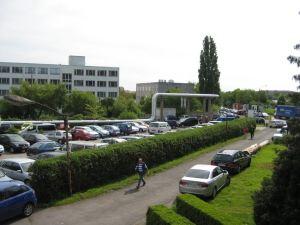 Tag der offenen Tür - Parkplatz