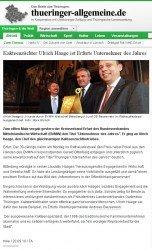 Thüringer Allgemeine vom 28.9.2010