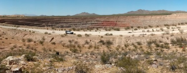 The Cactus Mine Discovery Outcrop in 2019.