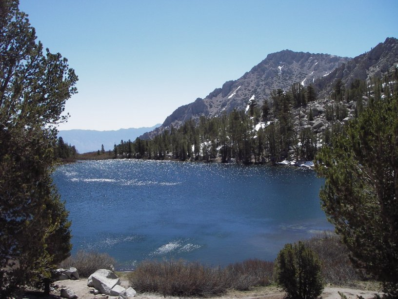Lake Near Onion Valley