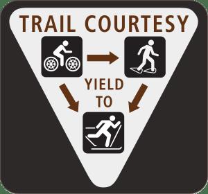 Winter Trail Etiquette