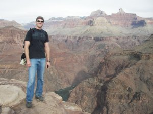At Plateau Point