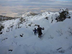 Hey & Kam in Snow