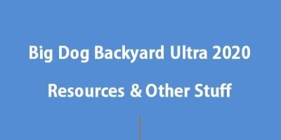Big Dog Backyard Ultra 2020