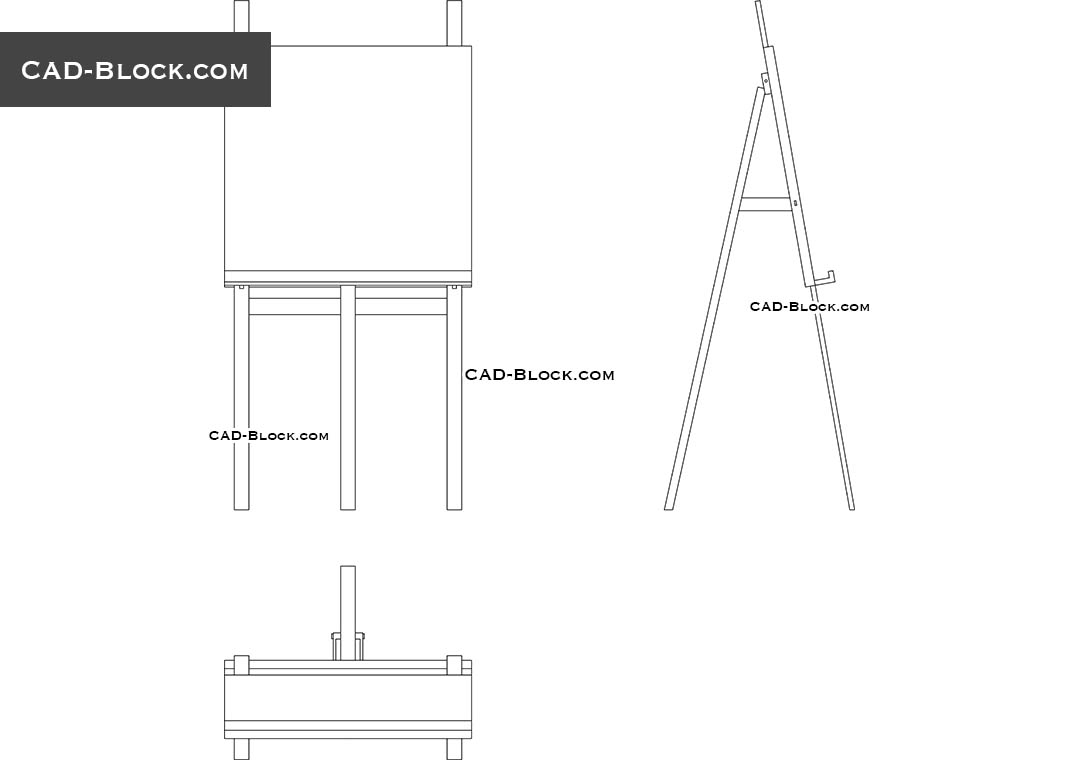 Easel CAD Block Download Free AutoCAD File