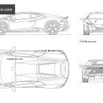 Lamborghini Huracan Evo Cad Blocks