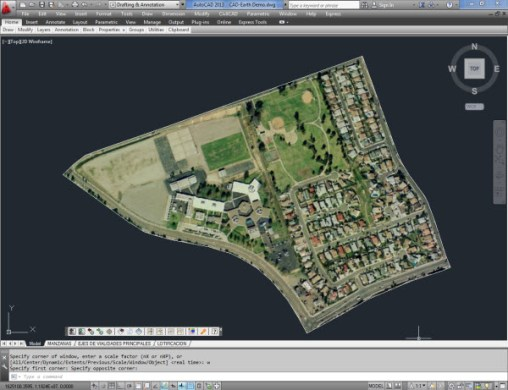 cad earth com import GE image