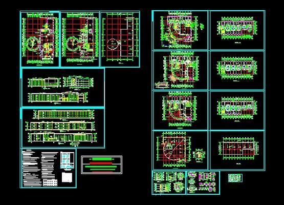 Multi Storey Hotel Building Plans Free Download AutoCAD