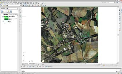 Using the 3d in AutoCAD Map 3d   The Mapping Link When you view this data in 3d the raster image will drape automatically  onto the 3d surface  It is also possible to use the FDO access tools to  connect to