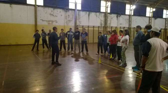 Entrenadores de la EIDE en Chubut