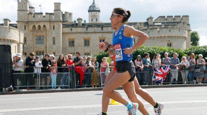 Rosa Godoy completó el maratón, Mastromarino tuvo que abandonar