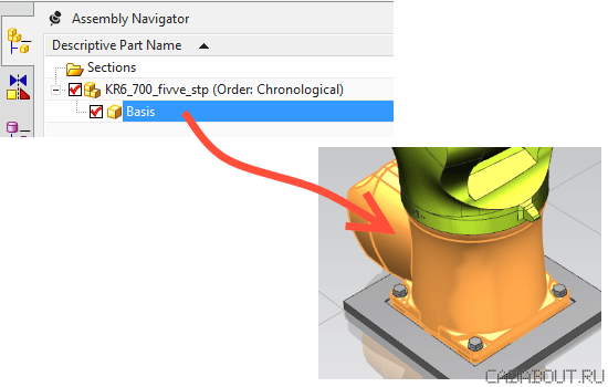 New Component Geometry
