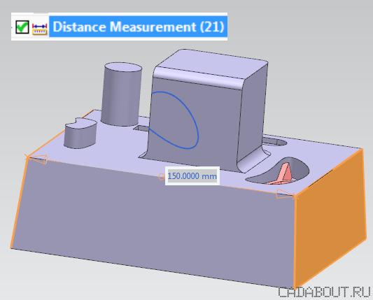 Siemens NX Associative Measurement