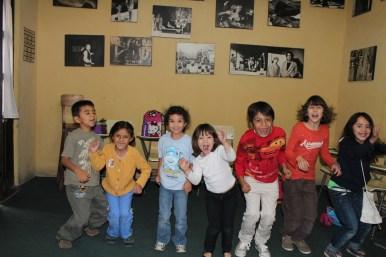 Niños en curso de verano CADAC 2012