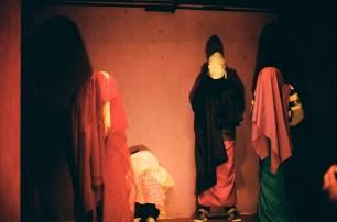 """Ejercicio escénico en el foro de teatro de la galería """"Las Diablas"""" (2008)"""