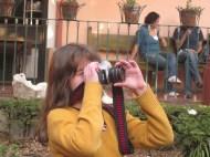 Clase de Fotografía en el Jardín Rosario Castellanos (Febrero 2011)