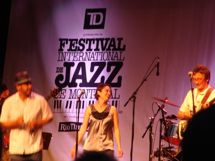 All the way from The Plateau! Roberto López Project performance at Festival International de Jazz de Montréal  • Montreal, QC