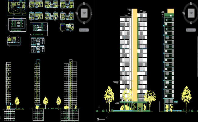 Modern Apartment Dwg