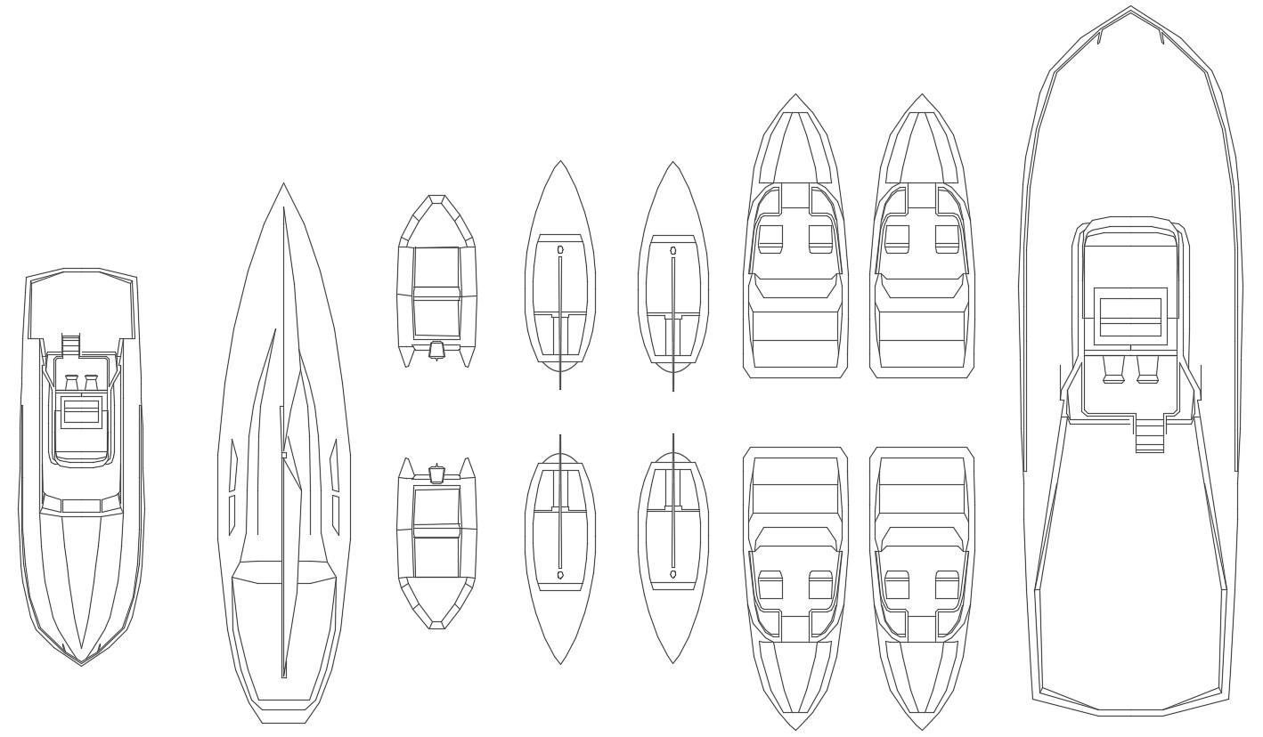 Boats Cad Blocks