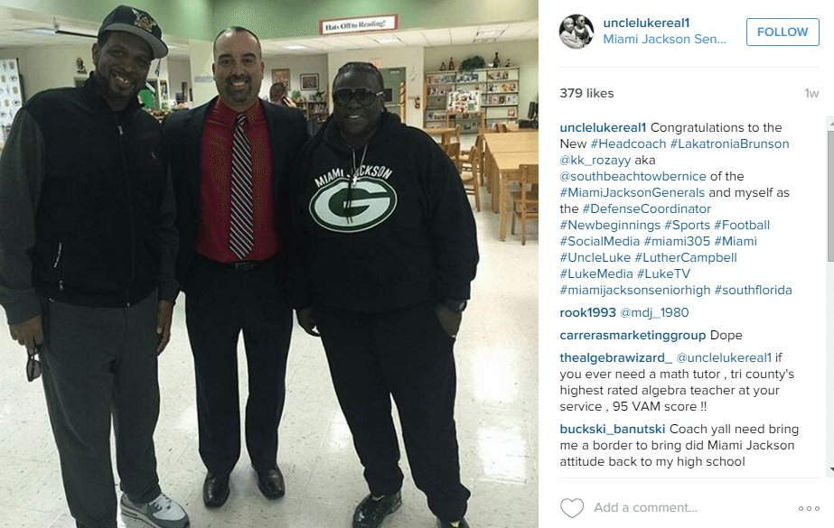 LUTHER CAMPBELL   unclelukereal1  • Instagram photos and videos