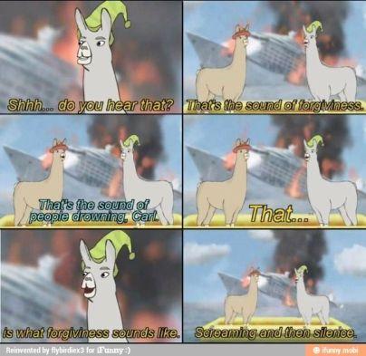 Llamas in hats forgiveness.jpg