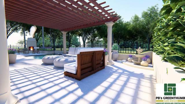 back patio 3d model download free 3d