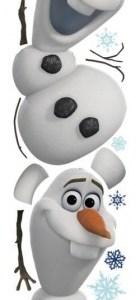 RoomMates muurstickers Disney Frozen 2 Olaf 25-delig