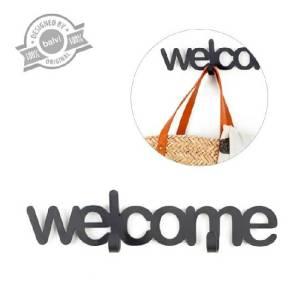 Wandkapstok Welcome