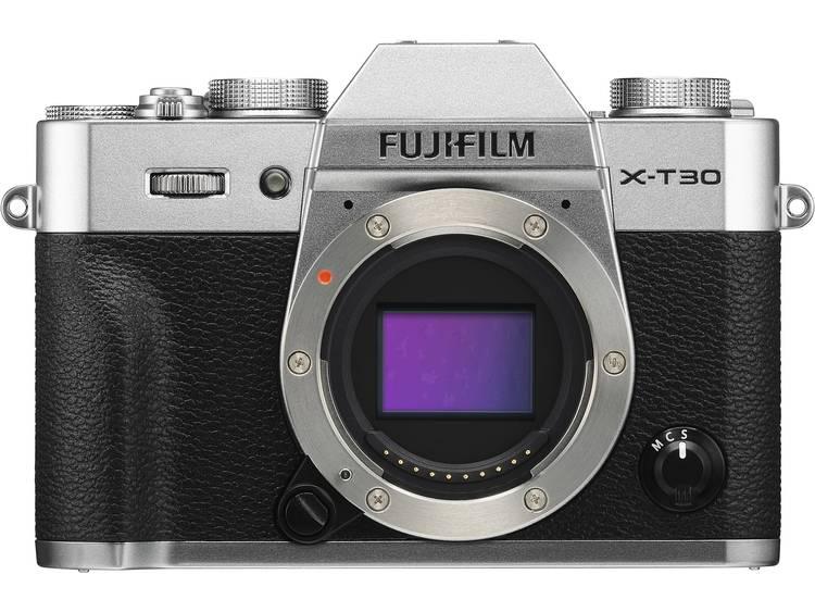 Systeemcamera Fujifilm X-T30 26.1 Mpix Zilver Touch-screen, Elektronische zoeker, Klapbaar display, WiFi, Flitsschoen, Bluetooth
