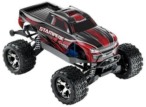 Traxxas Stampede 4x4 VXL brushless monster truck RTR - TSM