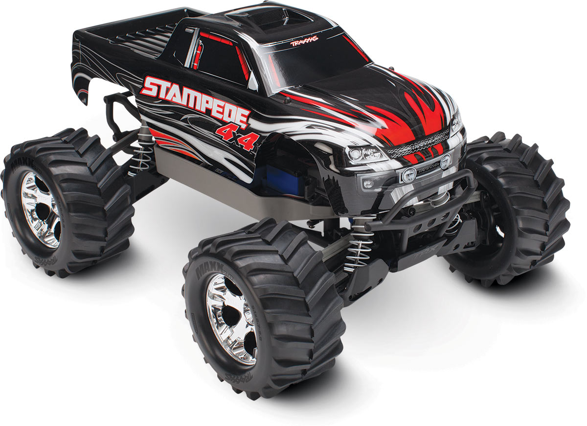 Traxxas Stampede 4x4 electro monster truck RTR - TQ Editie