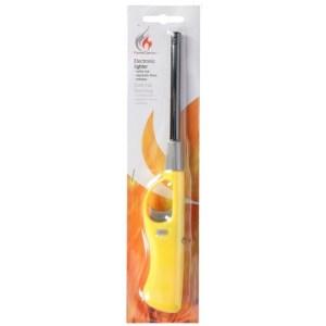 BBQ aansteker navulbaar geel 26 cm