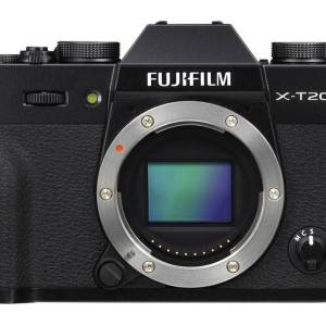Systeemcamera Fujifilm XT-20 24.3 Mpix Zwart 4K Video, Full-HD video-opname, Elektronische zoeker, WiFi