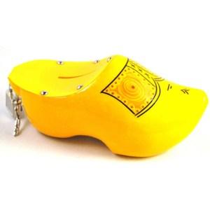 Klomp spaarpot geel 16 cm