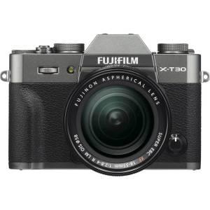 Fujifilm X-T30 XF18-55 mm Systeemcamera 26.1 Mpix Antraciet Touch-screen, Elektronische zoeker, Klapbaar display, WiFi, Flitsschoen, Bluetooth