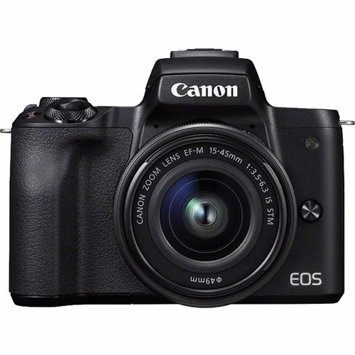 Canon systeemcamera EOS M50 + EF-M15-45S lens