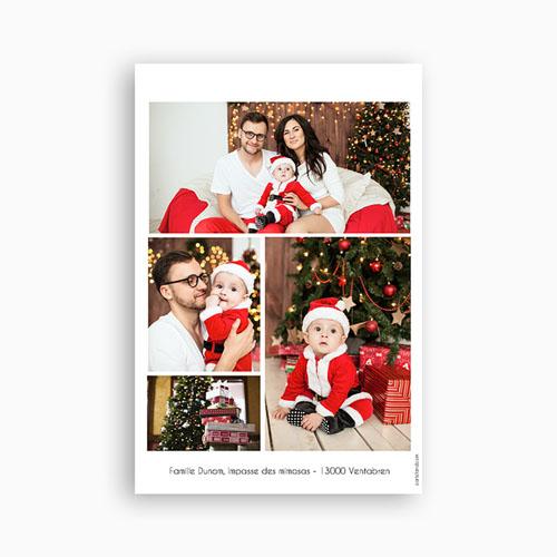 envoyer carte de voeux Carte de vœux ardoise photo
