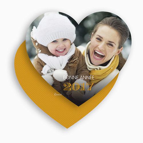 envoyer carte de voeux Carte de vœux cœur amour