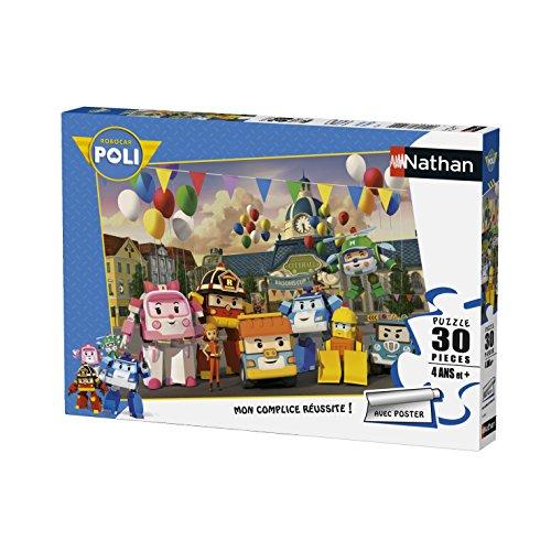 Nathan-86338-Puzzle-Jour-Fte-Vroum-Villerobocar-Poli-30-Pices-0