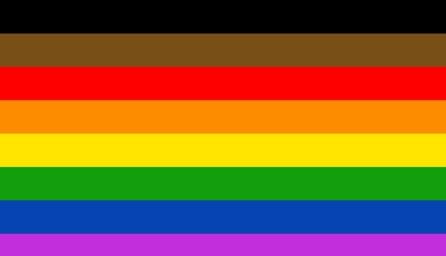Pride Flag Inclusive of POC