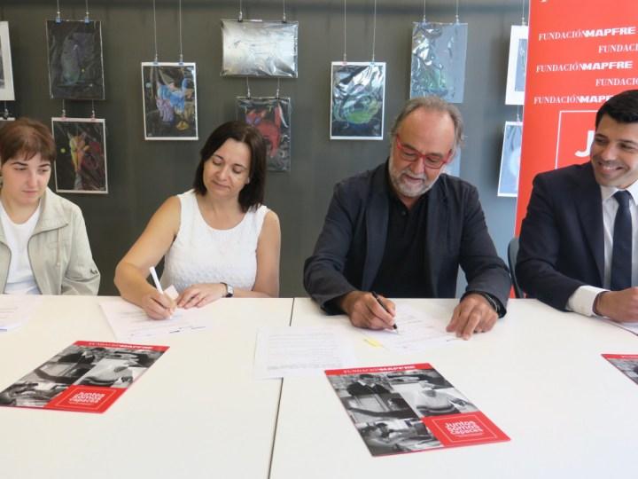 Fundación Mapfre y Down Lleida renuevan su convenio de inserción laboral