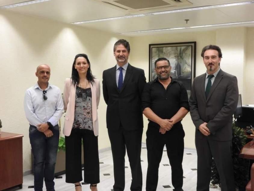 Cajasur firma convenios de colaboración con Fepamic y Autismo Córdoba para mejorar sus servicios