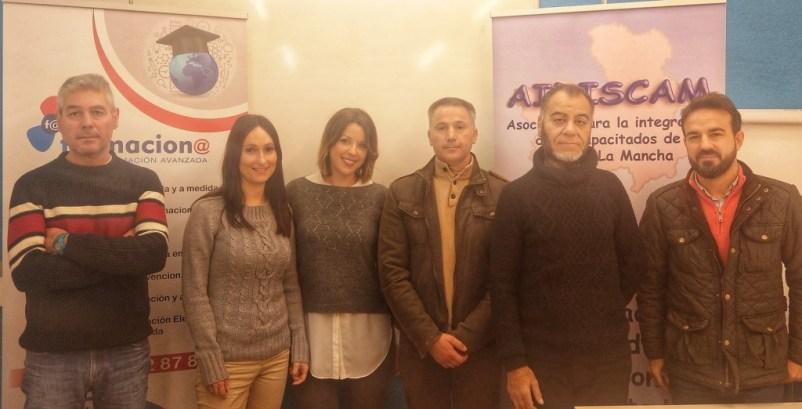 Aidiscam pone en marcha proyecto CREA de formación y empleo para personas con discapacidad