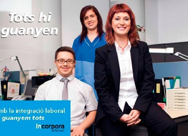 Activa Mutua colabora con la integración laboral de personas con discapacidad
