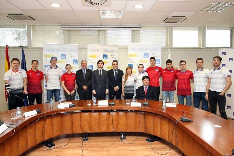 Axa apoya al equipo paralímpico español en su camino hacia Tokio 2020