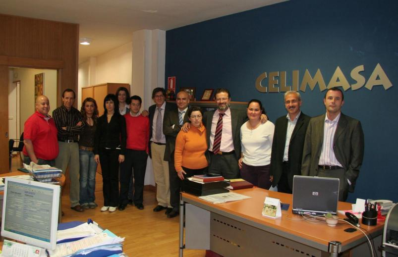 La empresa Celimasa emplea a 10 trabajadores con discapacidad a través de Laborvalía